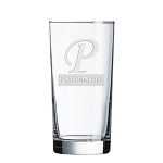 Aristocrat Executive Hiball Bar Glass 13 oz Monogram Engraved